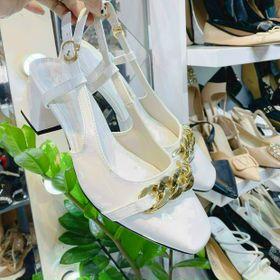 Giày Sandal cao Gót vuông 5 phân xinh giá sỉ