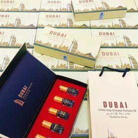 SET NƯỚC HOA DUBAI 5 CHAI giá sỉ