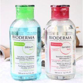 Nước hoa hồng tẩy trang BIODERMA Sensibio H2O 500ml giá sỉ