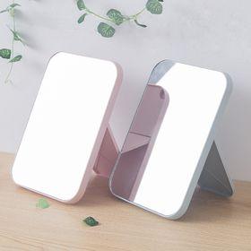 Gương Soi Để Bàn Trang Điểm Gấp Gọn - Gương Để Bàn Hình Chữ Nhật - Gương Trang Điểm Để Bàn 5 màu giá sỉ