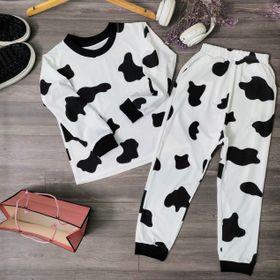 Set đồ bộ cho bé mặc nhà bò sữa đẹp giá sỉ