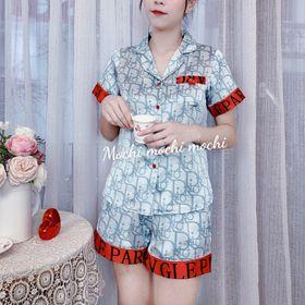 Đồ bộ pijama lụa đùi giá sỉ