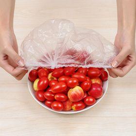 [COMBO 100] Màng bọc thực phẩm chất liệu nhựa PE an toàn, đa năng, tái sử dụng giá sỉ