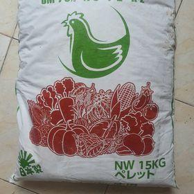 Phân Hữu Cơ VN GENKI ORGANIC bao 15kg(Phân Gà Hữu Cơ Nhật Bản Dạng Viên Nén) giá sỉ