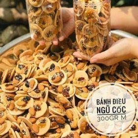 Bánh Đồng Tiền Mix Hạnh Nhân 350gr giá sỉ
