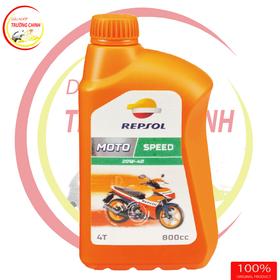 REPSOL MOTO 4T SPEED 20W40 800ml dầu nhớt xe máy xe số giá sỉ