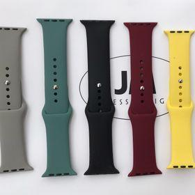 Dây cao su đồng hồ Apple Watch size 38/40/42/44mm giá sỉ