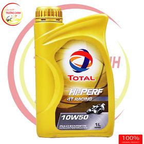 TOTAL HI-PERF 4T RACING 10W-50 Dầu nhớt xe máy xe số mô tô PKL giá sỉ