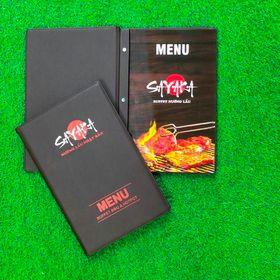 Địa chỉ làm bìa menu da, sản xuất bìa menu da, cần làm bìa menu da, đặt làm quyển menu bìa da giá rẻ giá sỉ