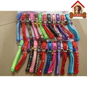 (giá sỉ) vỉ 12 cái vòng cổ Zichen cho chó mèo hàng đẹp bản 1,0cm giá sỉ