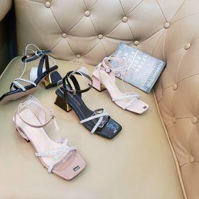 Sandal gót 5 f kiểu sỉ 68 k giá sỉ
