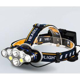 Đèn pin đội đầu 8 bóng LED T6 giá sỉ