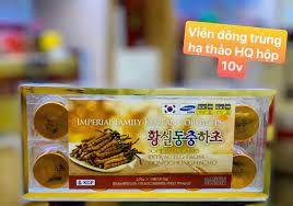 Viên đông trùng hạ thảo Hàn Quốc Imperial Family Hộp 10 viên giá sỉ