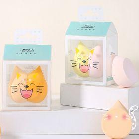 Bông tán kem Lameila Mèo, hộp 2 cái giá sỉ