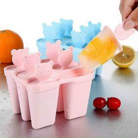 Khuôn làm kem 6 que bằng nhựa giá sỉ