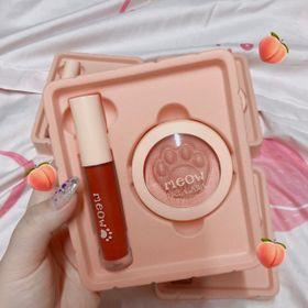 Bộ 2 Meow BLush & Lip N317, set gồm Son kem & Má hồng giá sỉ